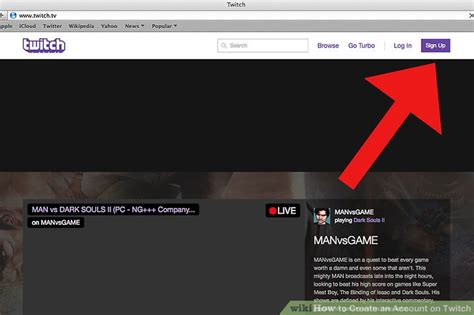 How to Create an Account on Twitch: 5 Steps (with Pictures)