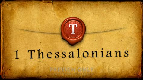 1 Thessalonians - Title Graphics | Igniter Media