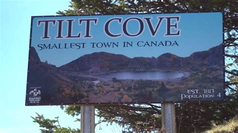 The quiet life in Tilt Cove, Canada's smallest town - BBC News
