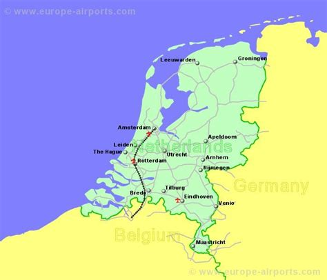 Airports in the Netherlands or Holland - Guides & Flights