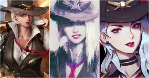 Overwatch: 10 Awesome Pieces Of Ashe Fan Art That Look