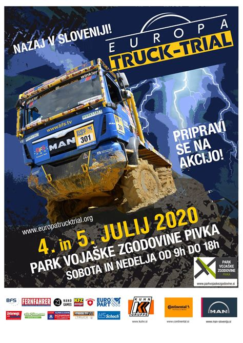 Pivka - Park of Military History 2020 - Europa Truck Trial