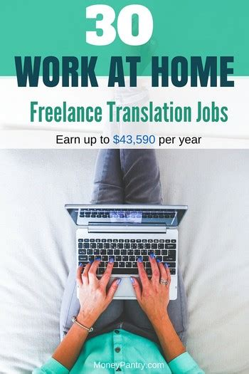 30 Online Translation Jobs: Get Paid up to $43,590 to