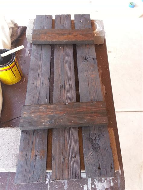 Just Add Some Java: Pallet Wood Shutters