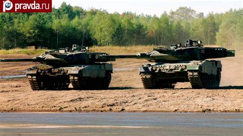 German tanks scare Russia off Lithuania - YouTube