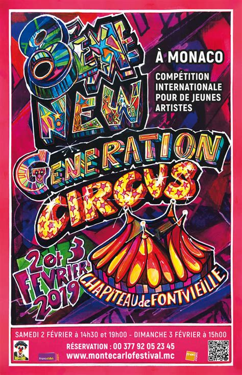 43rd International Circus Festival of Monte-Carlo From the