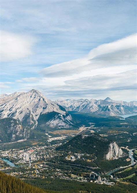 Banff Gondola Official Webcams: Views from the Top of
