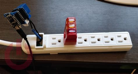 Build a temperature controlled Wi-Fi power strip with