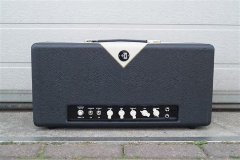 Haarguitars and parts AMW 39 head black tolex with egg V