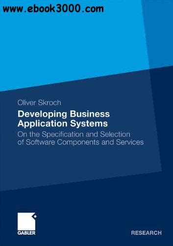 Developing Business Application Systems - Free eBooks Download