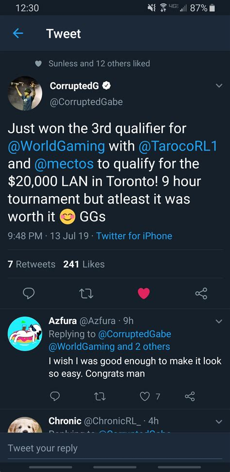 CorruptedG playing with Plot Twist for S8 RLRS