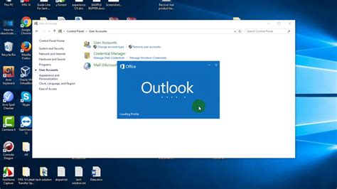 How to Sign Out and Remove Existing Profile from Outlook