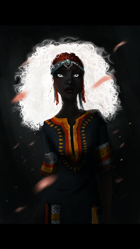 Zélie Adebola from Children of Blood and Bone   Blood and