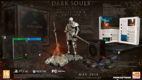 Fans Call €500 Dark Souls Trilogy Collector's Edition A