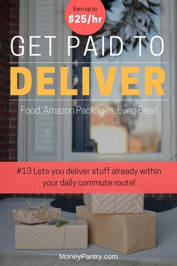 Get Paid to Deliver: 23 Apps That Pay You to Deliver Food