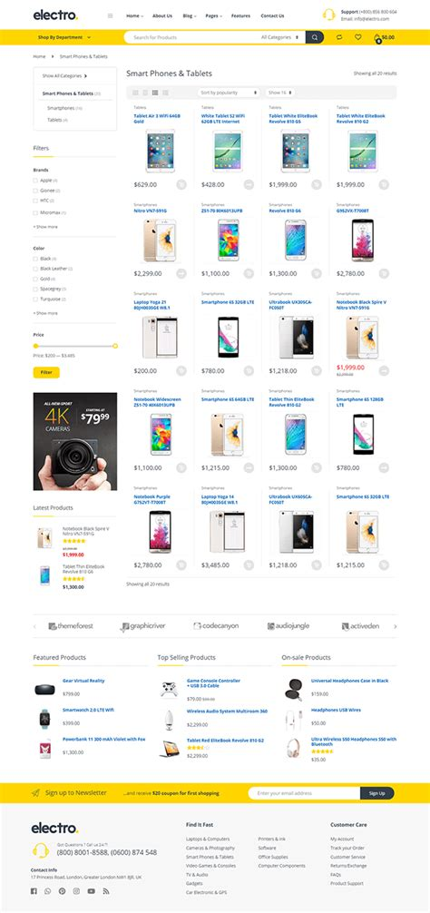 Electro - Best WordPress Theme For Electronic Store