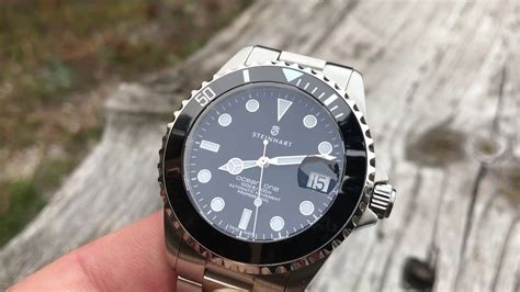 Steinhart 39mm ocean one (closing thoughts) - YouTube