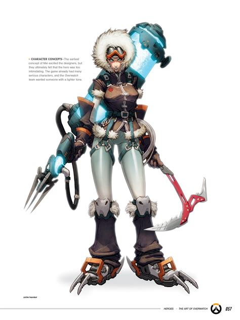 TIL that Mei was originally set to be Overwatch's first