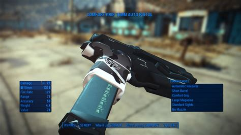 Stahl Arms STA-20 10mm Pistol (4k) - Fallout 4 / FO4 mods
