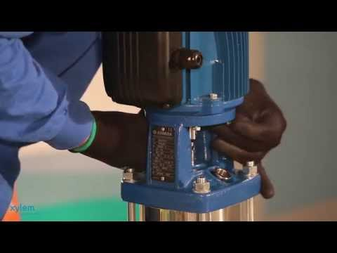 Converting a fixed speed pump or pumps using the Xylem