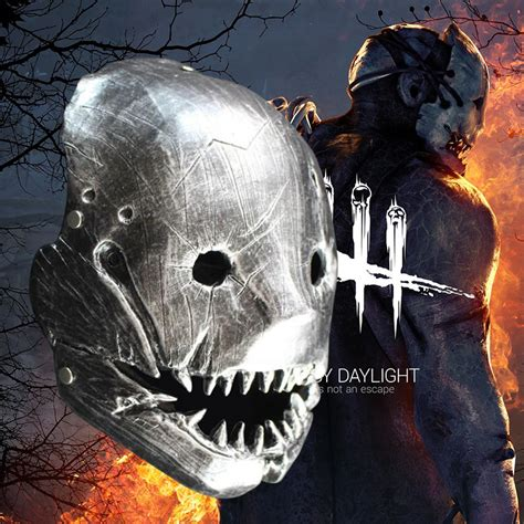 Resin Game Dead by Daylight Mask For The Trapper Cosplay