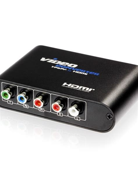 Hdelity Component (YPbPr) to HDMI 1080p scaler - Cablesson