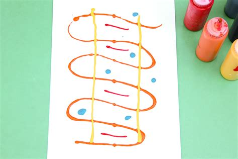 Art for Toddlers: Smooshy Blob Painting – Playful Learning