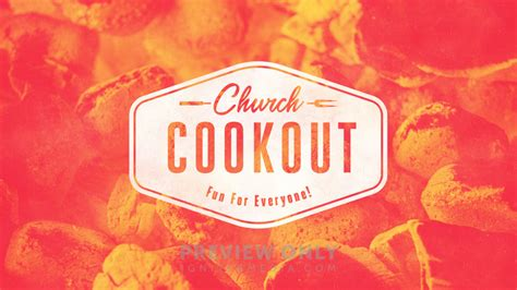 Church Cookout - Title Graphics | Igniter Media