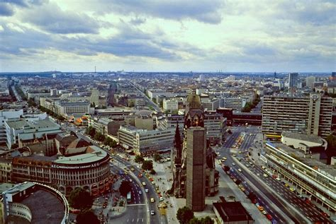 Downtown Berlin from the Europa Center | The center is the