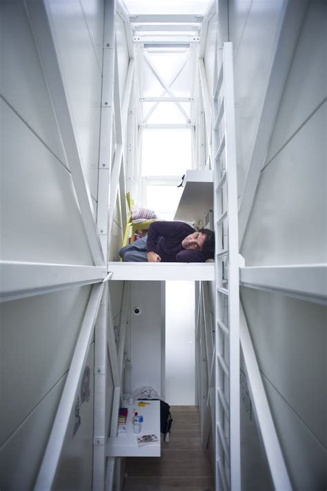 Gallery of Inside The Keret House - the World's Skinniest