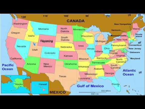 Map of America, map of the world physical (General Map