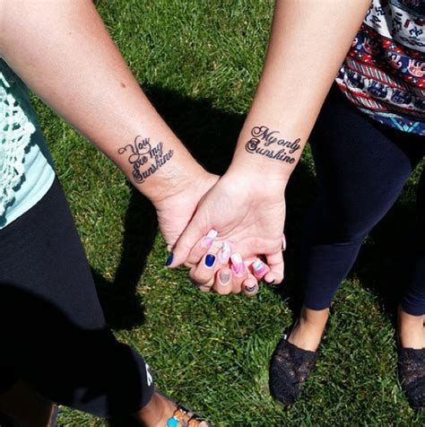 20 Mother Daughter Tattoo Pictures That Show The Strong