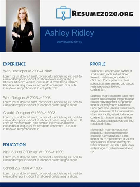 Functional Resume Format 2020 ⋆ Download free templates!