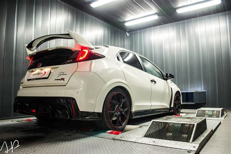 Honda Civic Type R Turbo Engine Tuned to 356 PS by