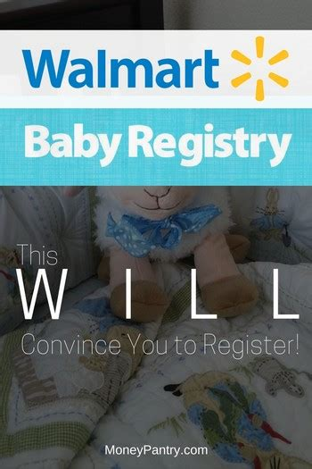 Walmart Baby Registry: Why You Must Register (Especially