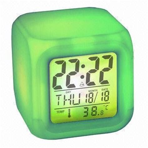 Natural Sound Alarm Clock with Color Changing(id:7492935