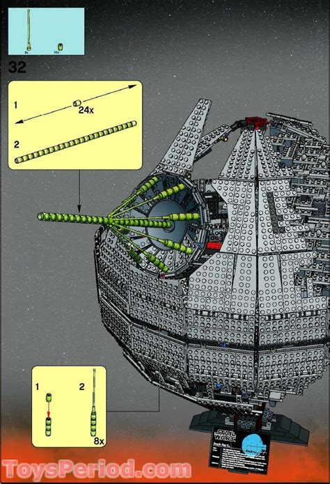 LEGO 10143 Death Star II - Ultimate Collector Series UCS