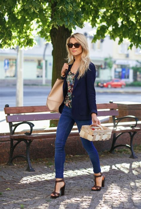 How To Style Your Blazer And Jeans ? Tips For Girls - Just