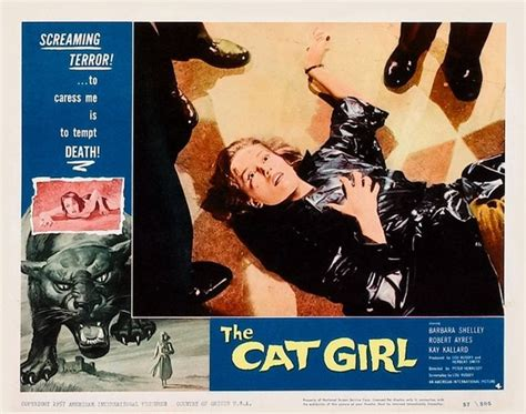 The Cat Girl (1957) | 3B Theater Poster Archive