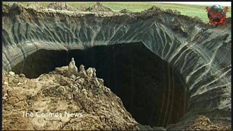Yamal Crater in Siberia not made by meteor or UFO Russian