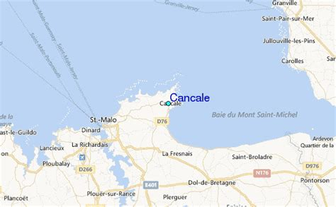 Cancale Tide Station Location Guide