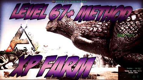 Easy EXP Farming Method - *After Patch* - Ark Survival