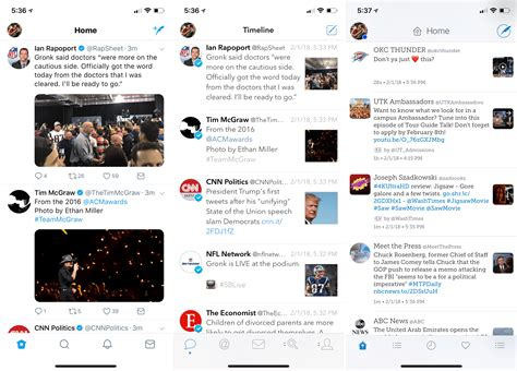 A guide to the three major Twitter clients