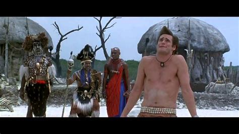 Ace Ventura: When Nature Calls: Nobody messes with the DO