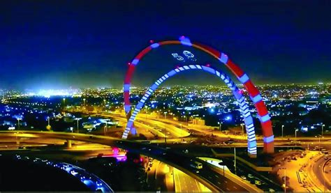 Qatar's tallest arched monument opened - The Peninsula Qatar