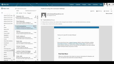 Create Folders to Organize Your Office 365 Outlook - YouTube