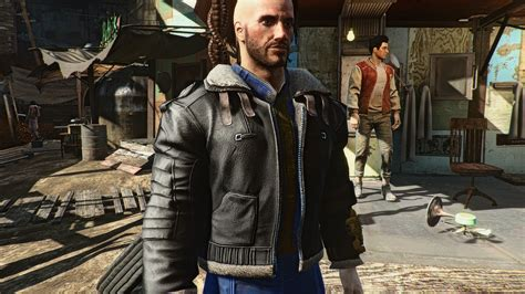 2K Bomber Jacket - Fallout 4 / FO4 mods