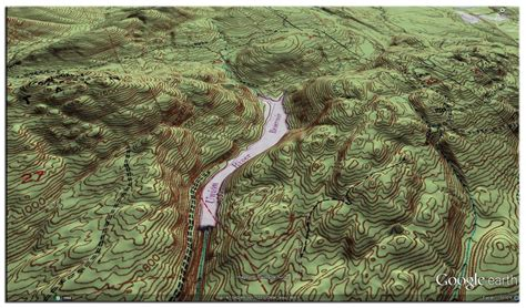 Create contour lines from Google Earth on AutoCAD with TCX
