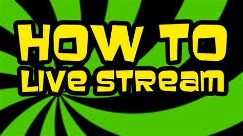 How to Live Stream Gameplay on Youtube and Twitch Tv