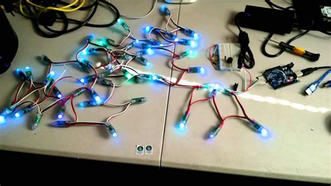 WS2811 LED Strip Controlled by an Arduino UNO R3 - YouTube